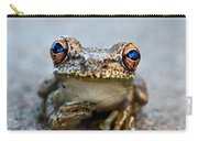 Pondering Frog Carry-all Pouch