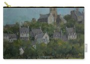 Pont Croix, Brittany, 2007 Oil On Canvas Carry-all Pouch