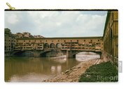 Pont De Vecchio On The Arno Carry-all Pouch
