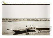 pont George V Bridge over Loire river Orleans Loire Valley France 1900 Carry-all Pouch
