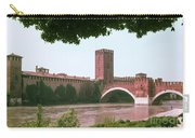 Pont Scaligero On Adige River Carry-all Pouch