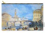 Ponte Santa Trinitia Florence Carry-all Pouch