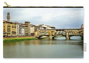 Ponte Vecchio 1 Carry-all Pouch by Ellen Henneke