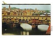 Ponte Vecchio 2 Carry-all Pouch by Ellen Henneke