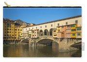 Ponte Vecchio Bridge In Florence Carry-all Pouch