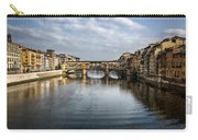 Ponte Vecchio Carry-all Pouch by Dave Bowman