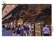 Ponte Vecchio Merchants - Florence Carry-all Pouch