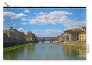 Ponte Vecchio Over The Arno River At Florence Italy Carry-all Pouch