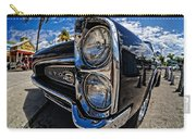 Pontiac Gto Convertible Ft Myers Beach Florida Carry-all Pouch by Edward Fielding