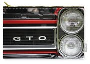 Pontiac Gto Front Carry-all Pouch