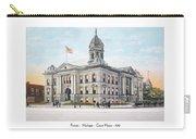 Pontiac Michigan - Ponitiac Court House - 1910 Carry-all Pouch