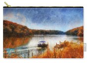 Pontoon Boat Photo Art 02 Carry-all Pouch