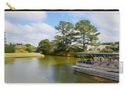 Pontoon Boat Ride On The Lake Carry-all Pouch