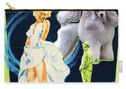 Poodle Art - The Seven Year Itch Movie Poster Carry-all Pouch
