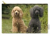 Poodle Dogs Carry-all Pouch