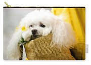 Poodle In Pouch Carry-all Pouch