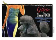 Poodle Standard Art - Gilda Movie Poster Carry-all Pouch