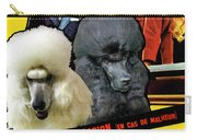 Poodle Standard Art - Love Is My Profession Movie Poster Carry-all Pouch