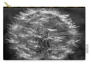 Poof - Black And White Carry-all Pouch