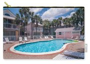 Pool And Cottages Carry-all Pouch