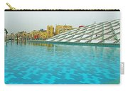 Pool And Roof Of Alexandria Library-egypt  Carry-all Pouch