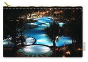 Pool At Night Carry-all Pouch
