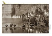 Pool In The Del Monte Bath House Monterey Circa 1885 Carry-all Pouch