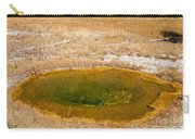 Pool In Upper Geyser Basin In Yellowstone National Park Carry-all Pouch