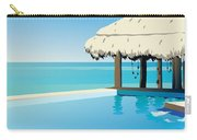Pool On The Ocean Carry-all Pouch