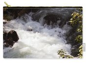 Pooling White Water Carry-all Pouch