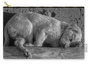 Pooped Puppy Bw Carry-all Pouch