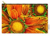 Pop Art Daisies 8 Carry-all Pouch