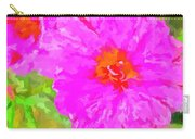 Pop Art Floral Carry-all Pouch