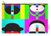 Pop Art People 4 2 Carry-all Pouch