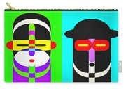 Pop Art People 4 Row Carry-all Pouch