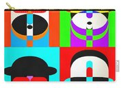 Pop Art People Quattro Carry-all Pouch