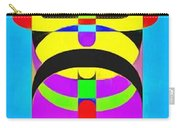 Pop Art People Totem 2 Carry-all Pouch