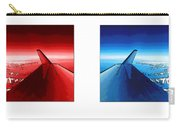 Red Blue Jet Pop Art Planes  Carry-all Pouch