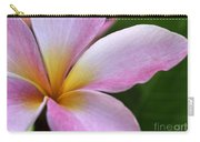 Pop Of Pink Plumeria Carry-all Pouch