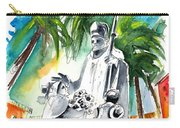 Pope Jean Paul II In Tenerife Carry-all Pouch
