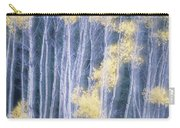 Poplar Trees In Autumn, Grey Creek Carry-all Pouch