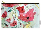 Poppies 05 Carry-all Pouch by Ismeta Gruenwald