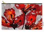 Poppies 47 Carry-all Pouch