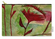Poppies Abstract 2 Carry-all Pouch