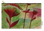 Poppies Abstract 3 Carry-all Pouch