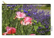 Poppies And Lavender Carry-all Pouch