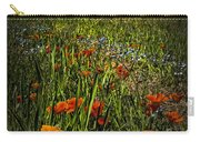 Poppies Art Carry-all Pouch