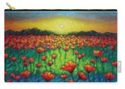 Poppies At Twilight Carry-all Pouch