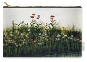Poppies, Daisies And Thistles Carry-all Pouch