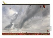 Poppies Dropped  Carry-all Pouch